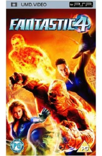 fantastic four dvd umd mini for psp 5060146916035 ebay