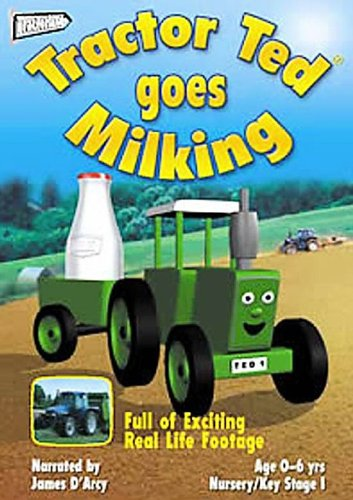Ted Youtube: Tractor TED Goes Milking DVD 5065000579111