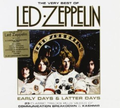led zeppelin early days and latter days the very best of led zeppelin cd ebay. Black Bedroom Furniture Sets. Home Design Ideas